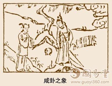 咸卦卦象,泽山咸卦的象征意义
